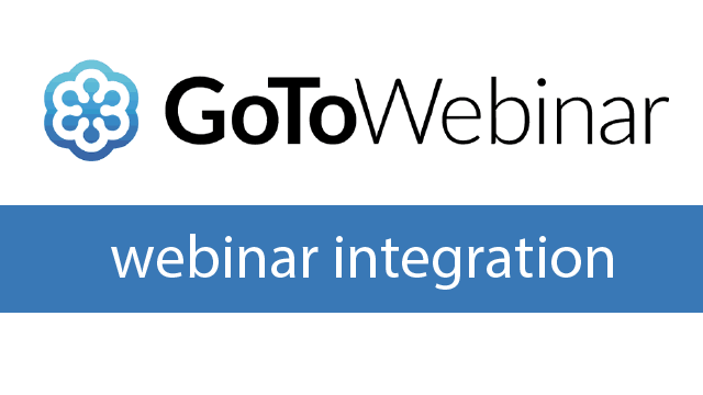 GoToWebinar Integration